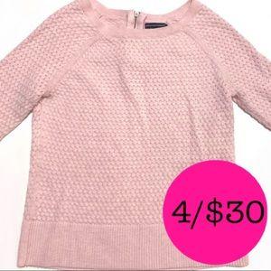 American Eagle Long Sleeve Pink Top